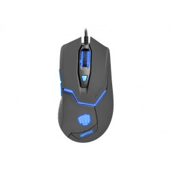 MOUSE GAMING FURY HUNTER 4800DPI OPTICAL WITH SOFTWARE BLACK